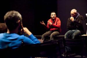 Fabrizio Arcuri e Andrea Porcheddu foto di Alvise Nicoletti