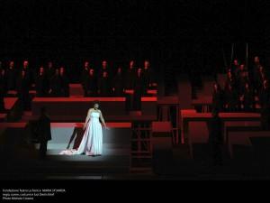 Maria Stuarda - musica Gaetano Donizetti - regia, scene, costumi e luci Denis Krief. Photo © Michele Crosera