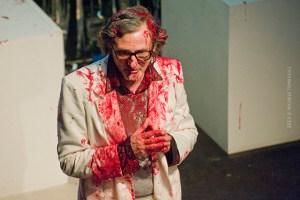 """Enrico Campanati in """"Banquo"""" - foto di Michele Tomaiuoli"""