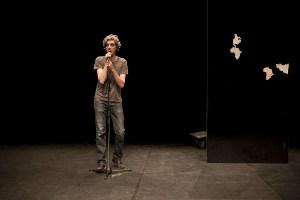 """Michele Di Stefano in """"Speak Spanish"""" - foto di Amedeo Novelli"""