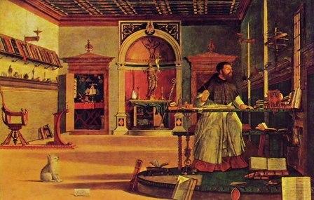 Visione di sant'Agostino - Vittore Carpaccio