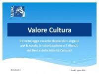 Una sitografia per comprendere il DL Valore Cultura