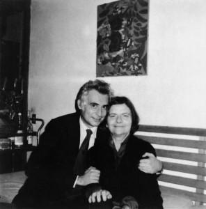 Cesare Garboli e Elsa Morante