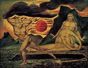 """William Blake, """"Il corpo di Abele trovato da Adamo ed Eva"""" (1826 ca.), Tate Gallery, London"""