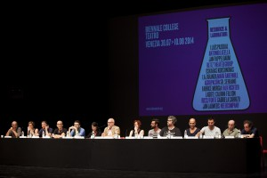 L'incontro al Teatro Piccolo Arsenale - foto di Ilaria Scarpa