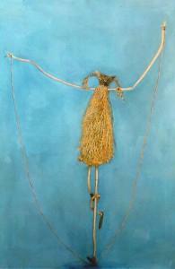 Monique Dupong, Bambina che salta alla corda