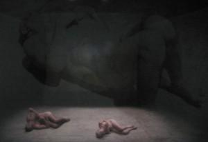 "Lenz Rifrazioni + Robin Rimbaud aka Scanner ""Verdi Re Lear"" (foto di Francesco Pititto)"