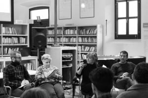 """Roberta Nicolai durante la tavola rotonda """"La creazione contemporanea e il reale"""""""