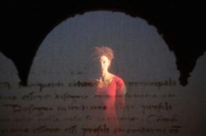 """Un'immagine dello spettacolo """"Piero Della Francesca"""" di Capotrave - foto di Luca Del Pia"""