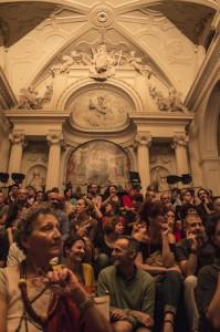 Il pubblico a Kilowatt 2014 (foto di Maria Todesco)