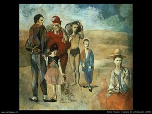 La famiglia di Saltimbanchi, Pablo Picasso 1905