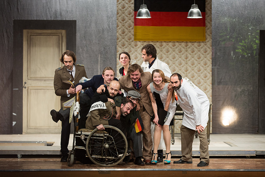 Materiali per una tragedia tedesca al CSS: un serial teatrale di Tarantino-Arcuri
