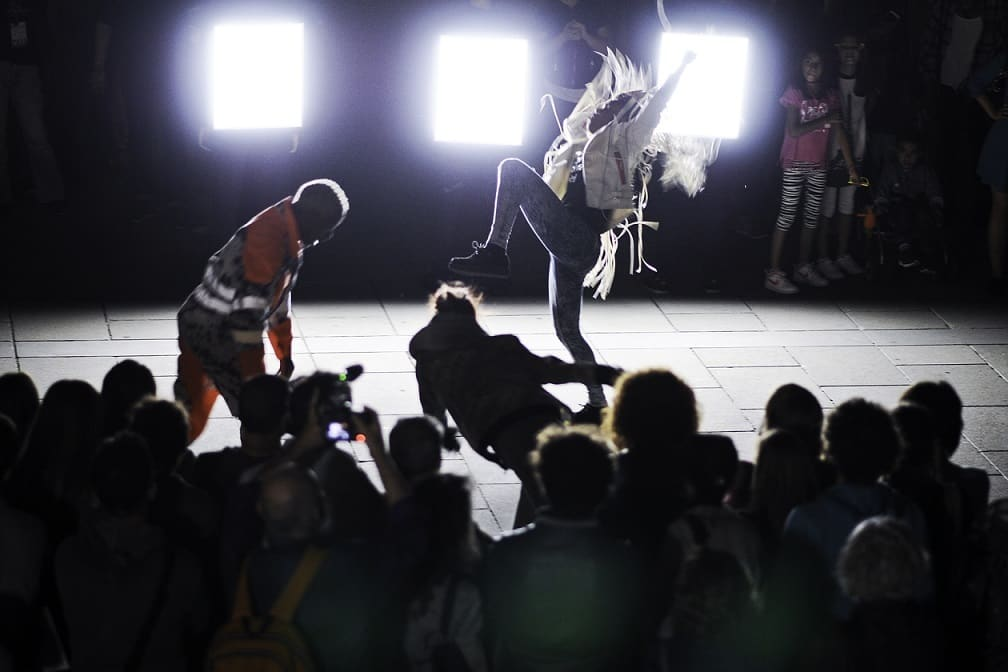 Danse de nuit di Boris Charmatz - ph. Simone Ridi